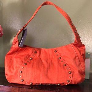 Kenneth Cole Reaction Hobo Bag Tangerine